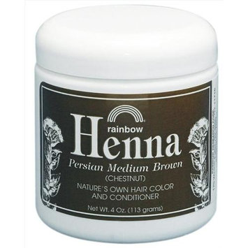 Rainbow Research - Henna Persian Medium Brown Chestnut Hair Color - 4 oz.