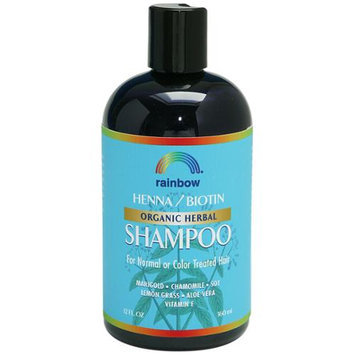 Rainbow Research - Organic Herbal Henna Biotin Shampoo - 12 oz.