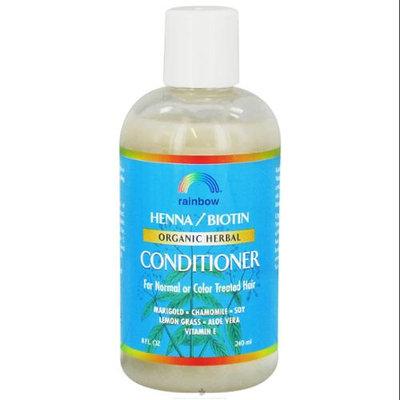 Rainbow Research - Organic Herbal Henna Biotin Conditioner - 8 oz.