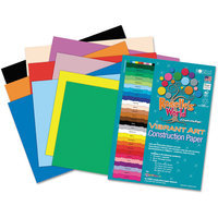Roselle Paper Co 01500 Heavyweight Construction Paper 58 Lbs. 9 X 12 Assorted 500 Sheets/pack