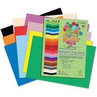 Roselle Paper Co 75902 Premium Sulphite Construction Paper 76 Lbs. 12 X 18 Dark Green 50/pack