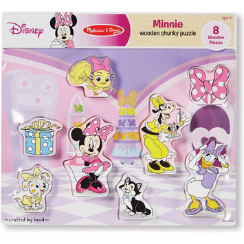 Disney Mickey Mouse & Friends Minnie Mouse Chunky Wooden Puzzle by Melissa & Doug