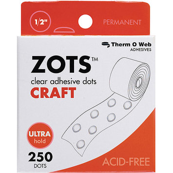 Therm O Web 37-85 Zots Clear Adhesive Dots
