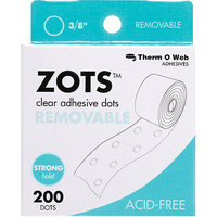 Therm O Web 3791 Zots Clear Adhesive Dots