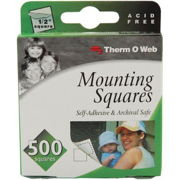 Therm O Web 3871 Mounting Squares 500/Pkg