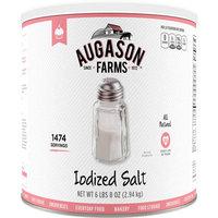Augason Farms Iodized Salt, 104 oz