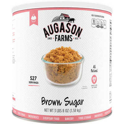Augason Farms Brown Sugar, 56 oz