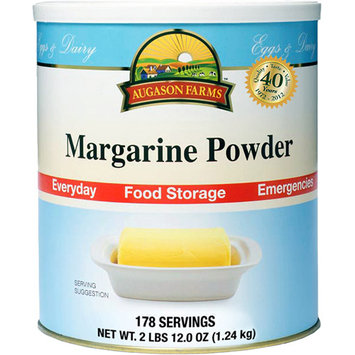 Augason Farms Emergency Food Margarine Powder, 44 oz