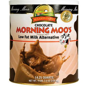 Augason Farms Emergency Food Chocolate Morning Moo's Low Fat Milk Alternative Drink Mix, 71 oz