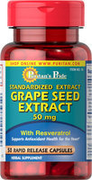 Puritan's Pride 3 Units of Grapeseed Extract 50 mg-50-Capsules