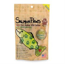 Salmon Paws Salmon Jerky with Organic Broccoli