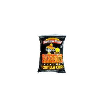 Golden Fluff 11224 Small BBQ Tortilla Chips 4119 Case of 48 x 1 oz
