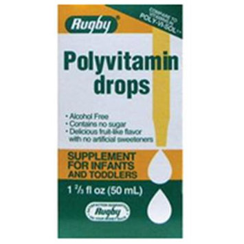 Watson Rugby Labs Polyvitamin Drops, 50 ml, Watson Rugby
