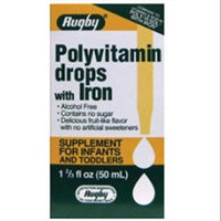 Watson Rugby Labs Polyvitamin Drops w/ Iron, 50 ml, Watson Rugby