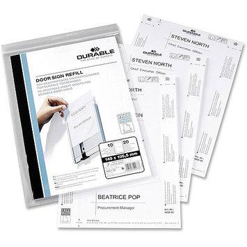 Durable Office 4850-02 Refillpaperf/4800-23