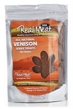 Country Pet Dog And Puppy Jrky Trts Venison, 8-Ounce Unit