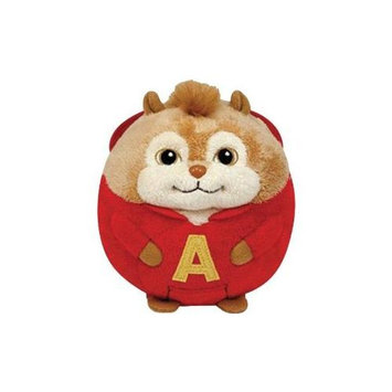Ty, Inc. Ty Beanie Ballz Alvin - Chipmunk Large