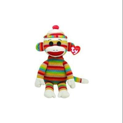 Ty, Inc. TY INC TY Beanie Buddy Sock Monkey Stripes Large 96269