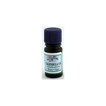 Tiferet Aromatherapy: Blue Glass Aromatic Oils, Calendula CO2 5 ml