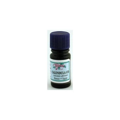 Tiferet Aromatherapy: Blue Glass Aromatic Oils, Calendula CO2 5 ml
