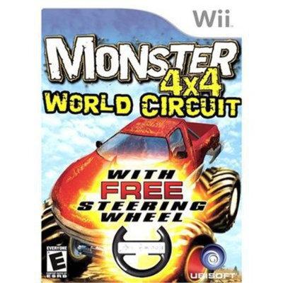 Ubi Soft Monster Truck 4x4: World Circuit w/ Wheel (Wii)