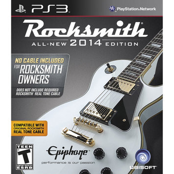 Ubi Soft PS3 - Rocksmith 2014 Edition (no cable included)