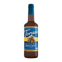 Torani Sugar Free Irish Cream Syrup 750ML (Pack of 12)