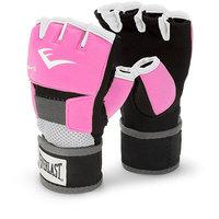 Everlast Pink Women's Evergel Hand Wraps (Large)