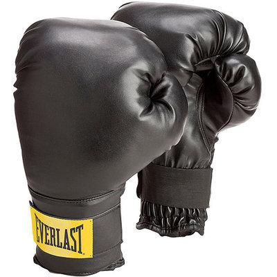 Everlast 2974 Everlast Wristwrap Gloves - Black (w/White Label)