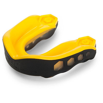 Everlast Sport Everlast 4470 Shock Doctor EverMAX Mouthguard - Yellow-Black