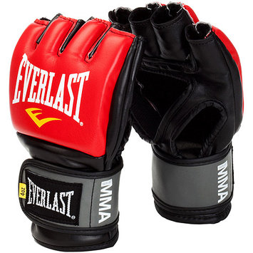 Everlast Sport Everlast Pro Style Competition Grappling Gloves, Red