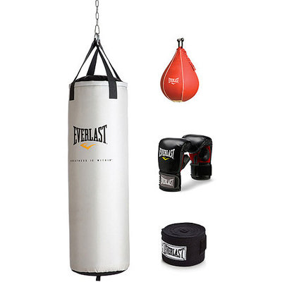 Everlast 70 lb Platinum Heavy Bag Kit