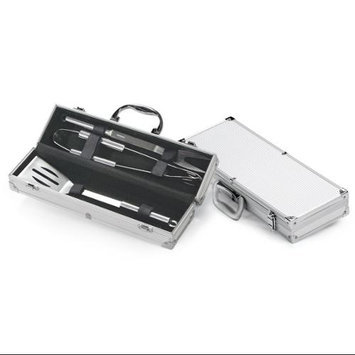 Cc Home Furnishings Stainless Steel Gourmet Barbecue Tool Set With Aluminum Bbq Carrying