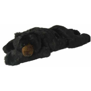 The Hen House 48 Large Soft and Cuddly Plush Black Grizzly Bear Stuffed Animal Hug