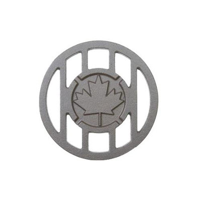 Cc Sports Canada Inspired Maple Leaf Branding Iron Grill Accessory