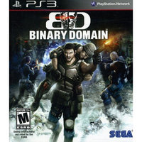 Sega of America, Inc. Binary Domain (Playstation 3)