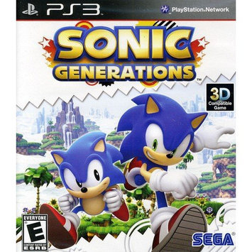 Sega Sonic Generations - Action/Adventure Game - PlayStation 3