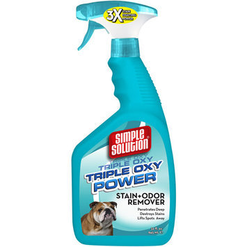 Out International OUT! PetCare Simple Solution Triple OXY Stain+Odor Remover 32 oz