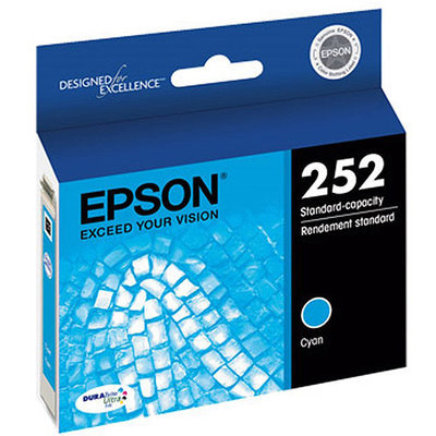 Epson Durabrite Ultra Ink Cartridge - Cyan - Inkjet (t252220)