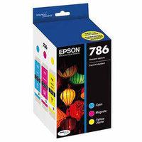 Epson - Durabrite Ultra Ink Jet Cartridges 3-pack T786520-s - Cyan/magenta/yellow