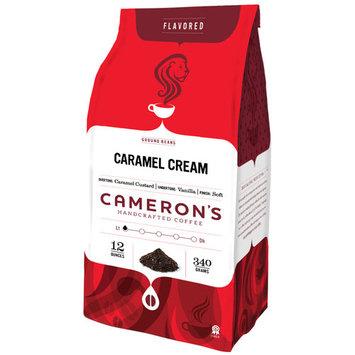 Cameron's Coffee CameronA A¢A ?A ?s Caramel Cream Ground Coffee, 12 oz