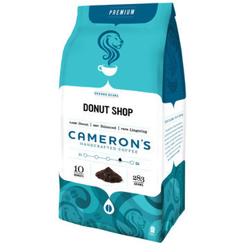 Cameron's Coffee CameronA A¢A ?A ?s Donut Shop Ground Coffee, 10 oz