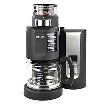 Krups Pro 10-cup Coffee Grinder & Brewer