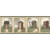 Linda Spivey Outhouses themed bathroom Collection by Chesapeake