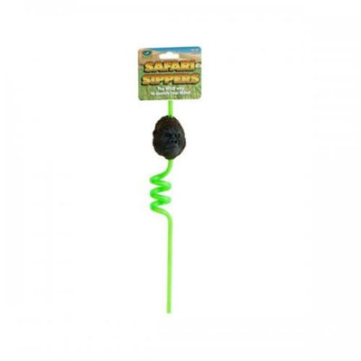 Bulk Buys Ka223 Safari Sippers Spiral Straw Pack Of 24