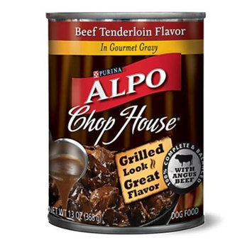 Nestlé Purina Pet Care Canned NP15262 Alpo Chop House Beef Tenderloin 12-13 Oz.