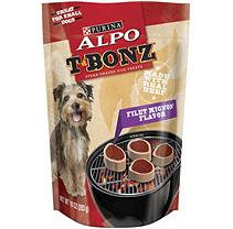 Alpo T-Bonz Steak-Shaped Dog Treats, Filet Mignon (10 oz, 6 pk.)