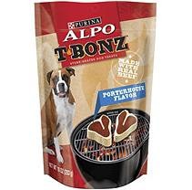 Alpo T-Bonz Steak-Shaped Dog Treats, Porterhouse (10 oz, 6 pk.)