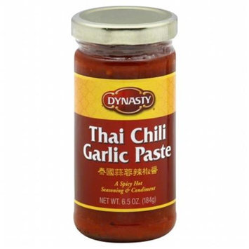 DYNASTY 65561 DYNASTY CHILI PASTE GARLIC - Pack of 6 - 6. 5 OZ
