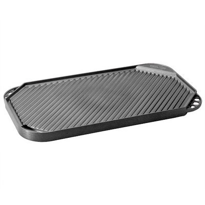 Nordicware Pro Cast 2 Burner Reversible Grill Griddle